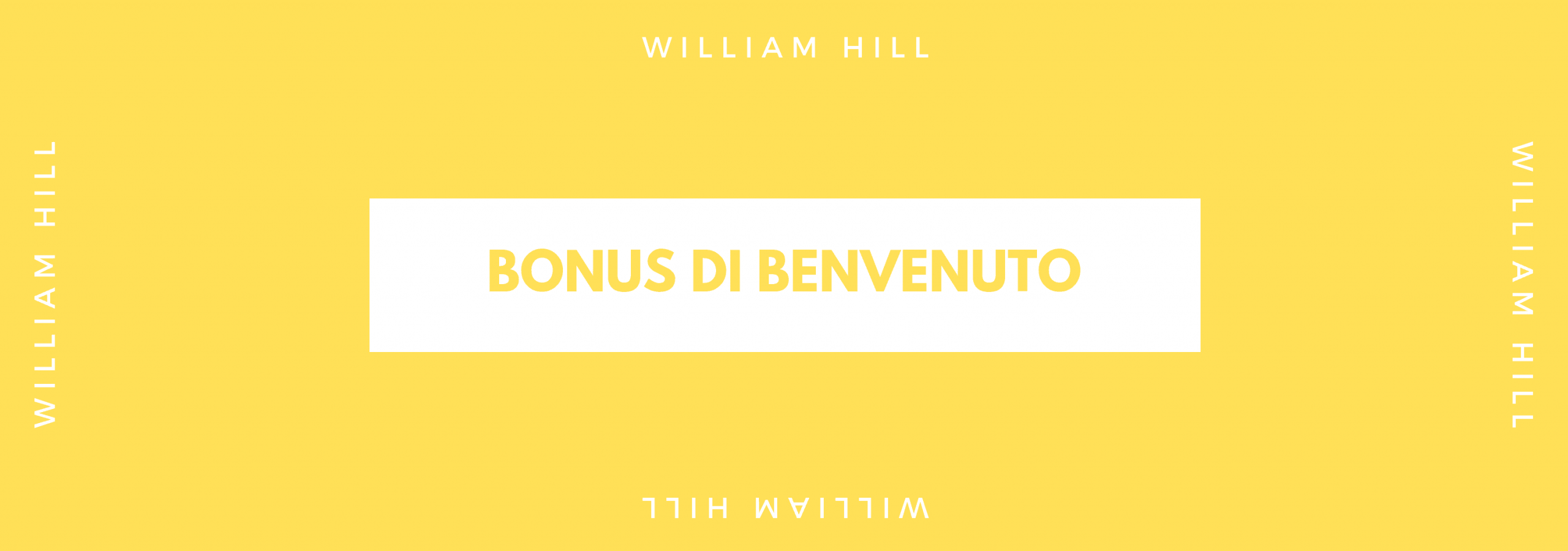 bonus di benvenuto william hill 1